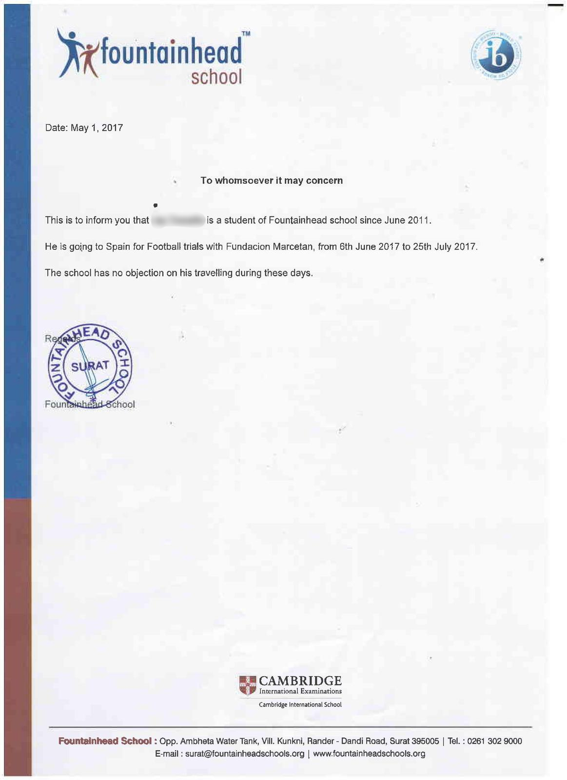 documents for admission in other schools  u2013 fountainhead school